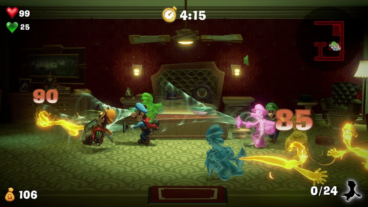 Screenshots von Luigi's Mansion 3