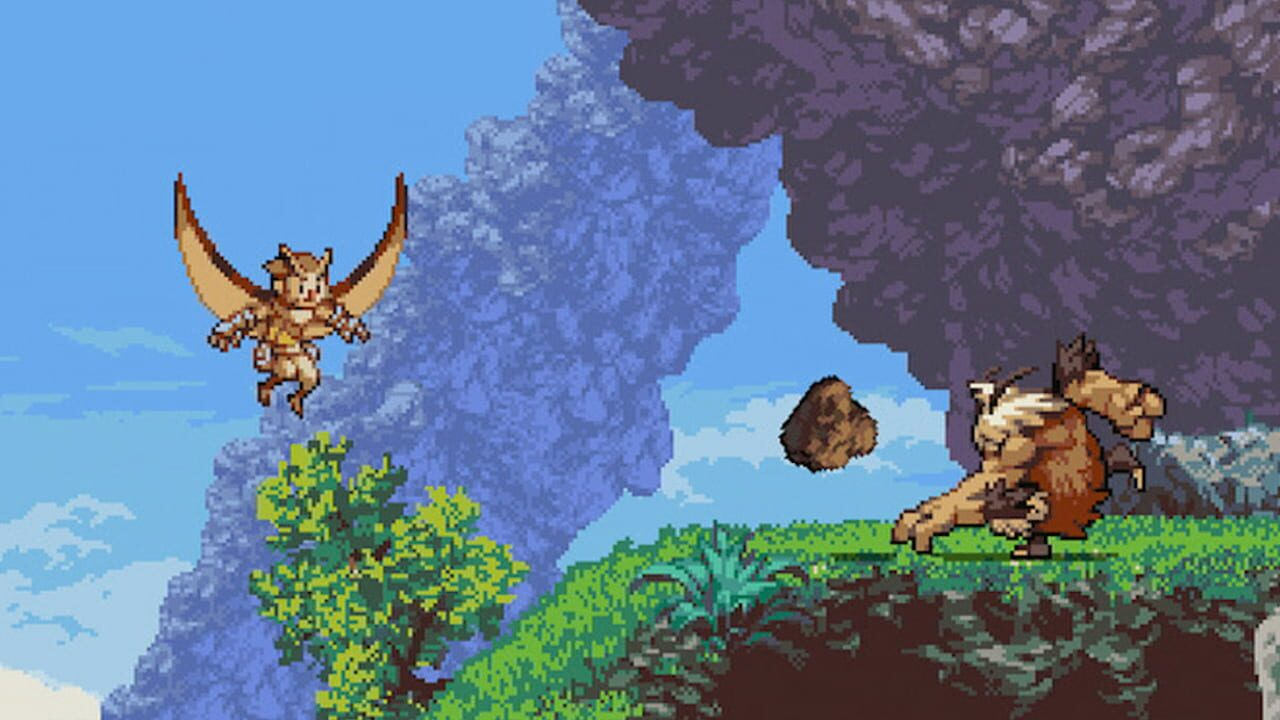Screenshots aus Owlboy