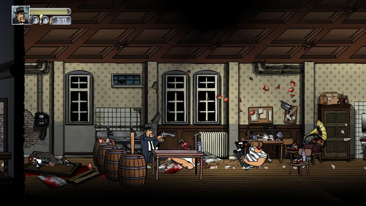 Screenshots von Guns, Gore & Cannoli