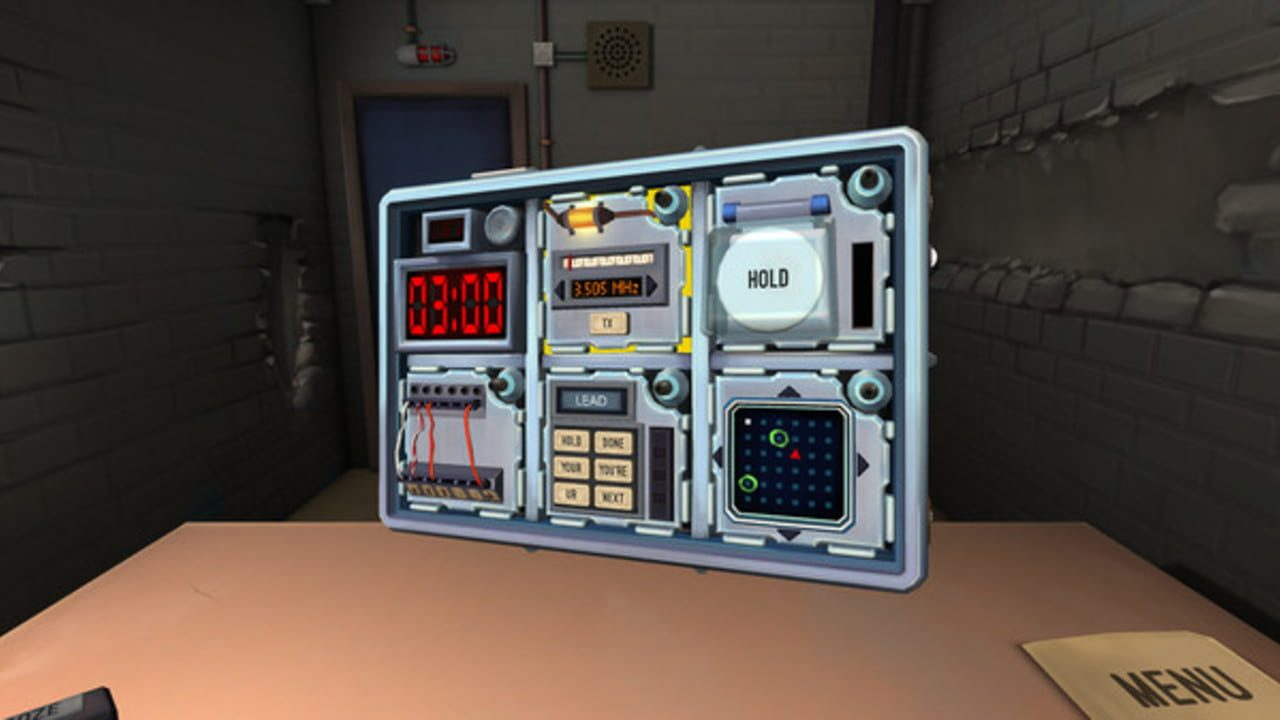 Screenshots aus Keep Talking and Nobody Explodes