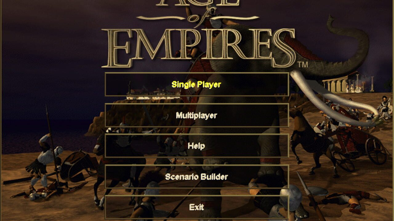 Screenshots von Age of Empires