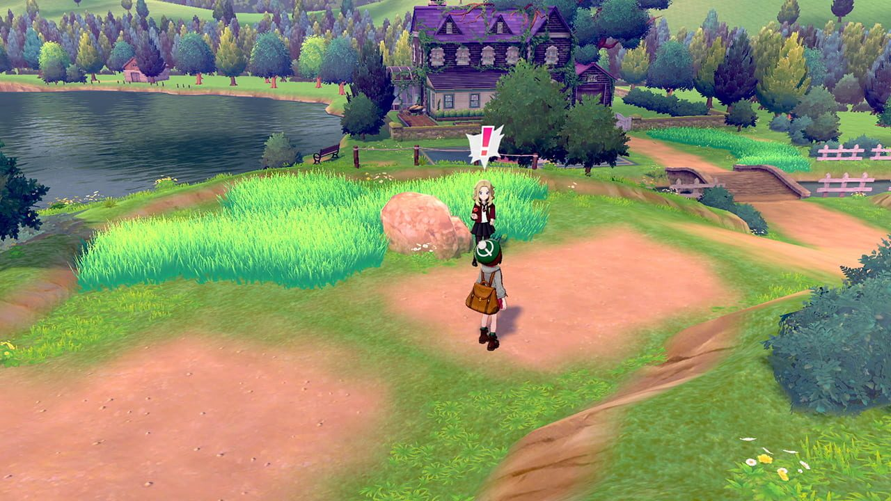 Screenshots von Pokémon Sword