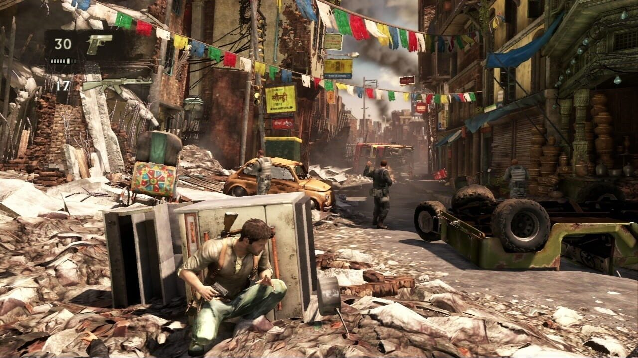 Screenshots aus Uncharted 2: Among Thieves