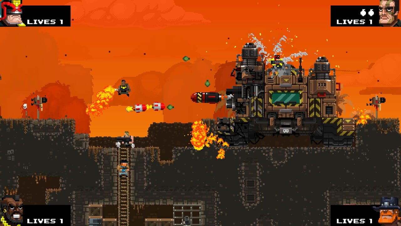 Screenshots von Broforce