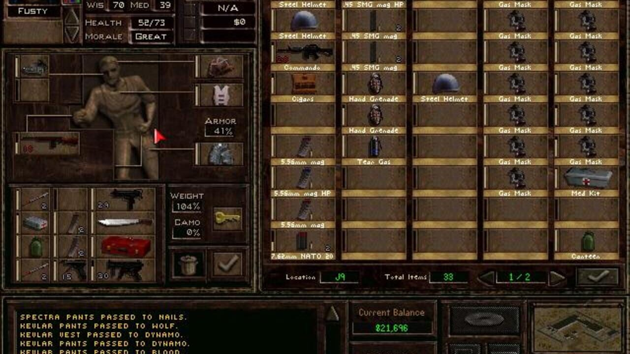 Screenshots von Jagged Alliance 2
