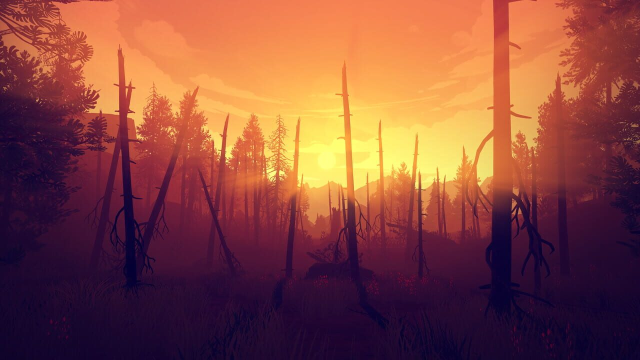 Screenshots von Firewatch
